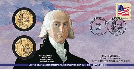 Unopened P29 William Henry Harrison 2009 PRESIDENTIAL First Day Coin Cover