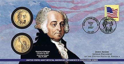 Sealed 2007 Thomas Jefferson First Day Cover Presidential Dollar Release